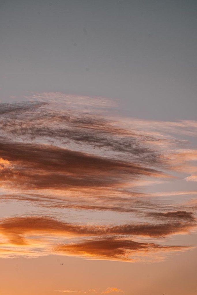 ciel orange Ouistreham Refuse to hibernate