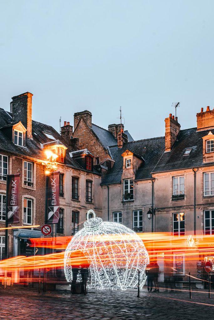 Décoration de Noël Bayeux Refuse to hibernate