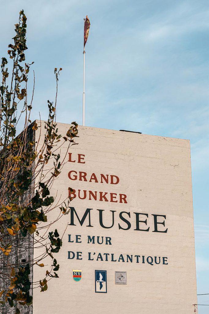 Grand Bunker Musée Mur Atlantique Refuse to hibernate