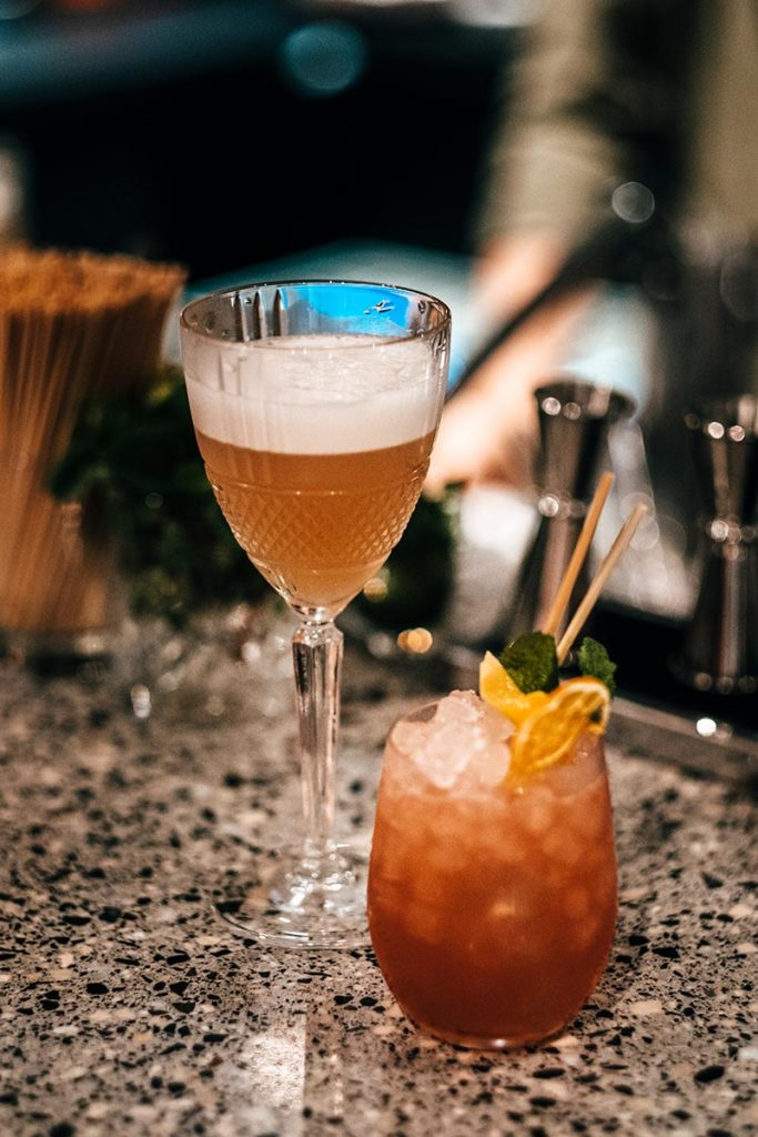 le Grand Quartier cocktails Refuse to hibernate
