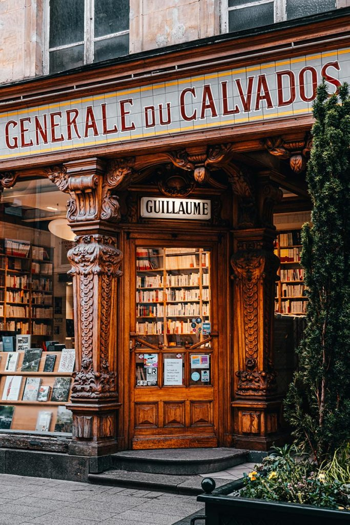 Librarie Guillaume Caen Refuse to hibernate