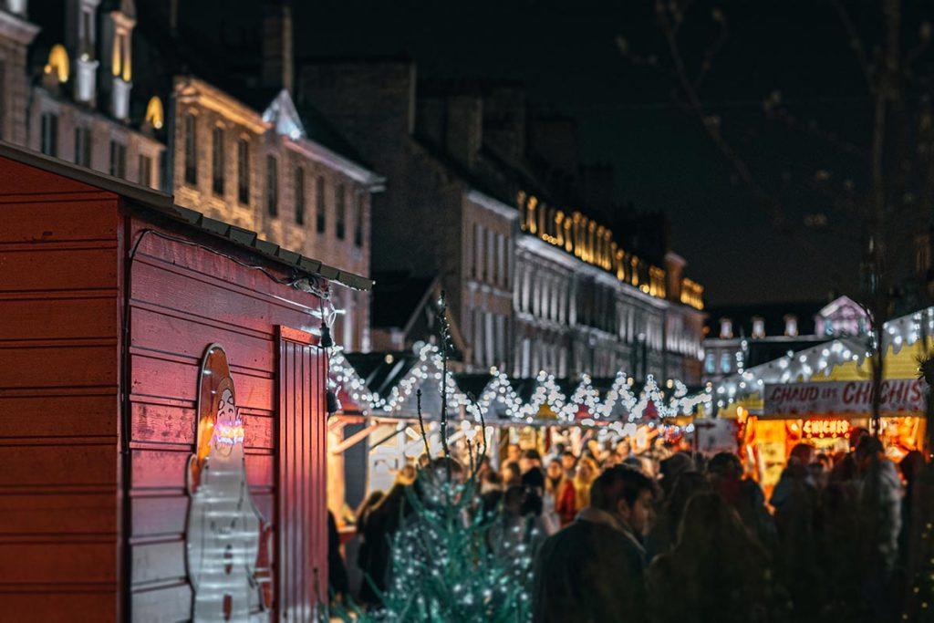 marché de Noël de Caen Refuse to hibernate