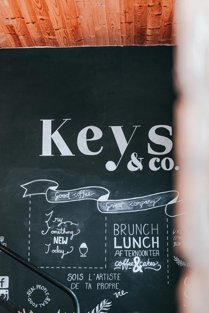 mur Keys & Co Caen Refuse to hibernate