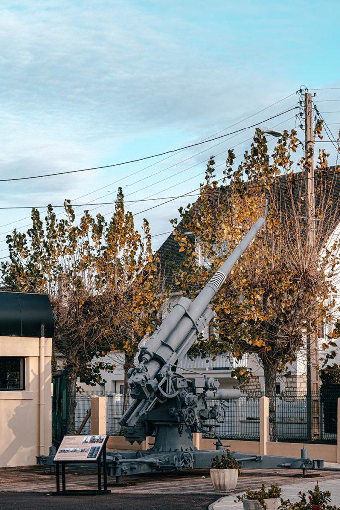 Musée Mur Atlantique arme Refuse to hibernate