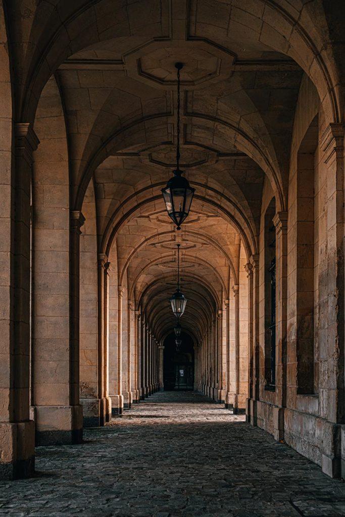 passage Abbaye aux dames Caen Refuse to hibernate
