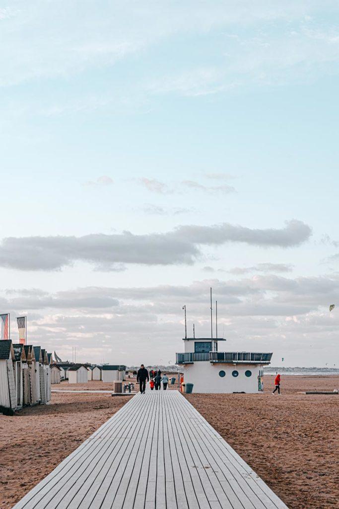 cabines bord de mer de Ouistreham Refuse to hibernate