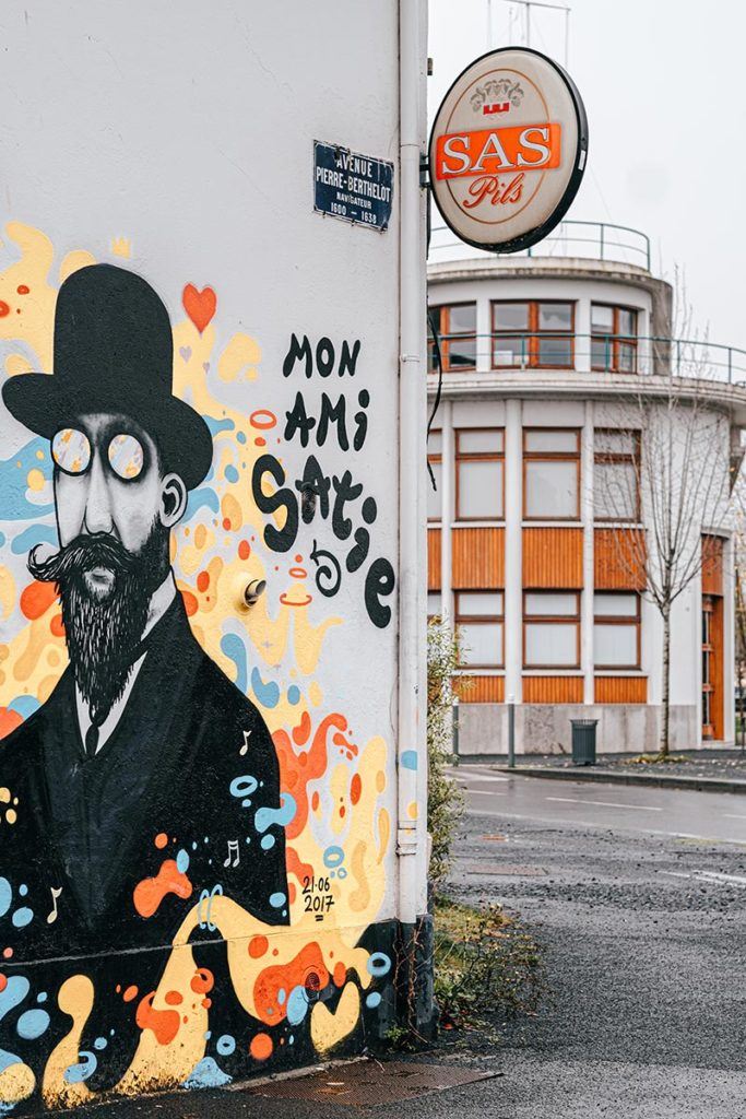street-art Presqu'île Caen refuse to hibernate