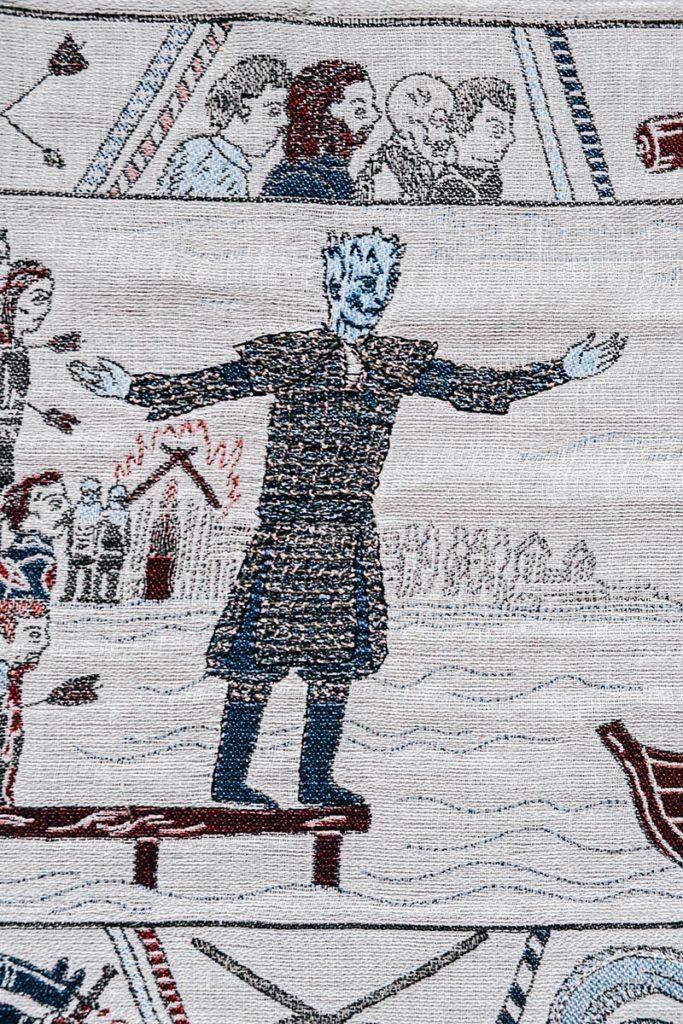 Tapisserie de Game of Thrones Marcheur blanc Refuse to hibernate