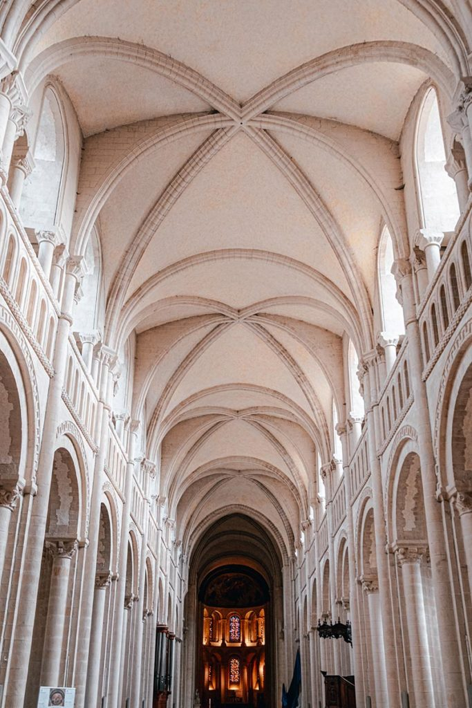 Voute Abbaye aux dames Caen Refuse to hibernate