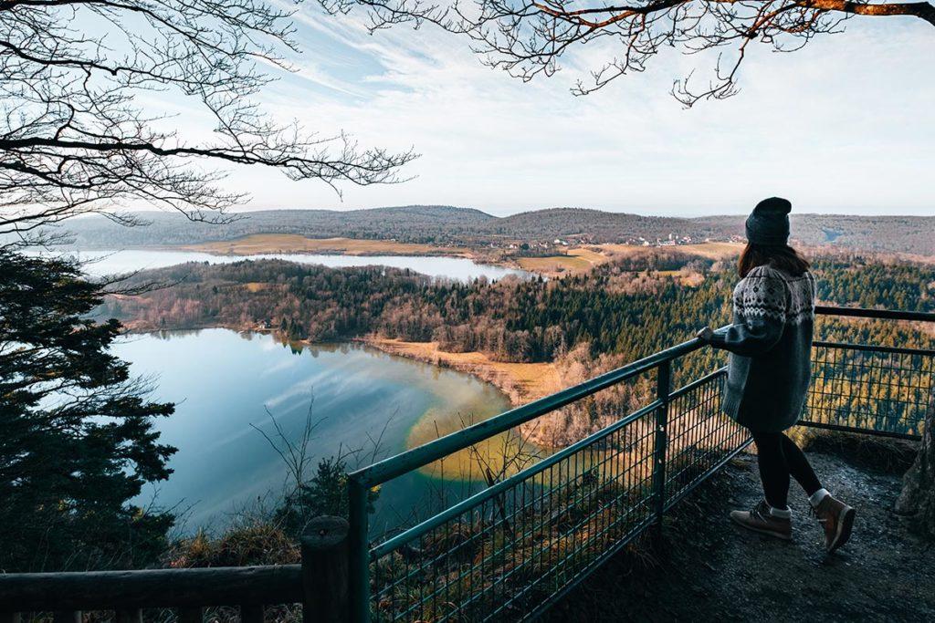 Audrey belvédère des 4 Lacs Jura Refuse to hibernate