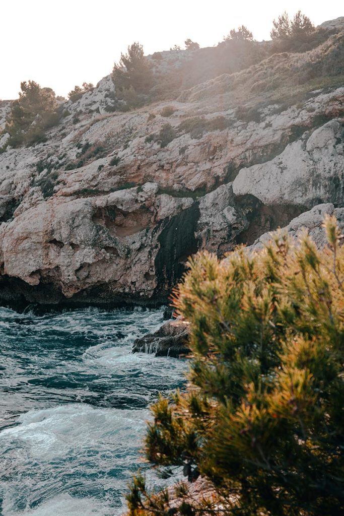 Calanque de Niolon coucher de soleil Marseille Refuse to hibernate