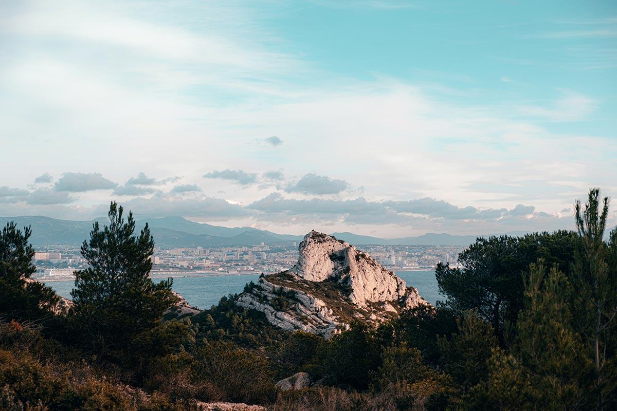 Calanque de Niolon roche Marseille Refuse to hibernate