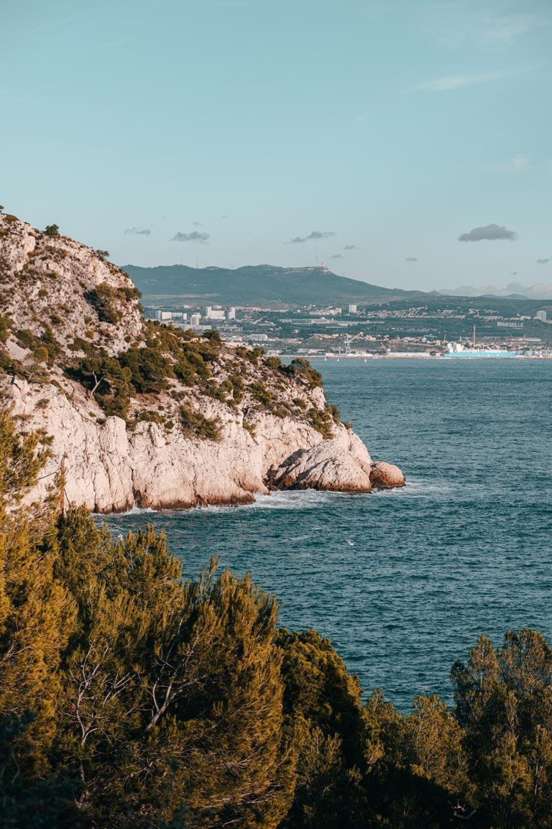 Calanque de Niolon rocher Marseille Refuse to hibernate