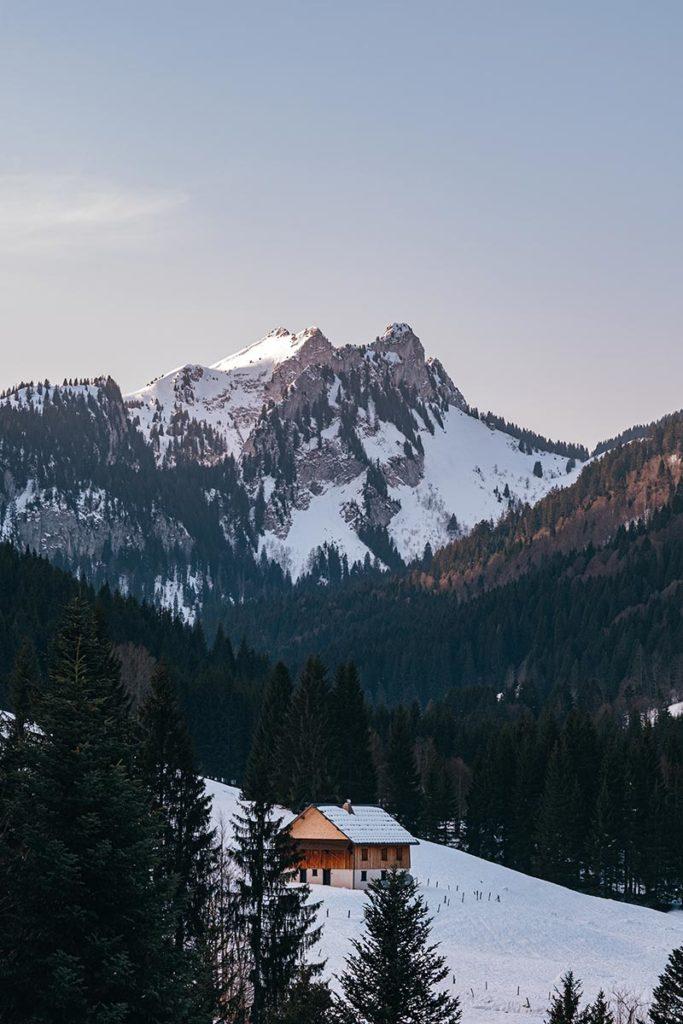 chalet Rock d'Enfer Alpes du Léman Refuse to hibernate