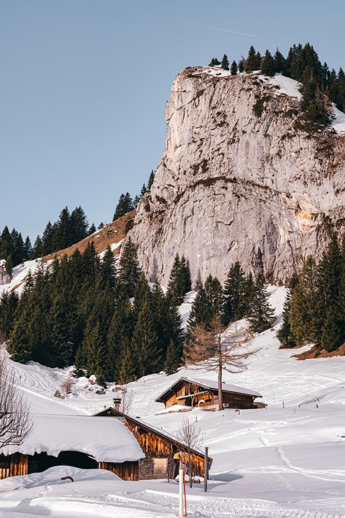 chalets montagne Rock d'Enfer Alpes du Léman Refuse to hibernate
