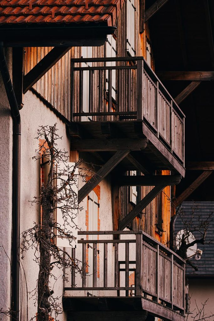 chambre d'hôte la Fontaine d'Argence balcon Alpes du Léman Refuse to hibernate