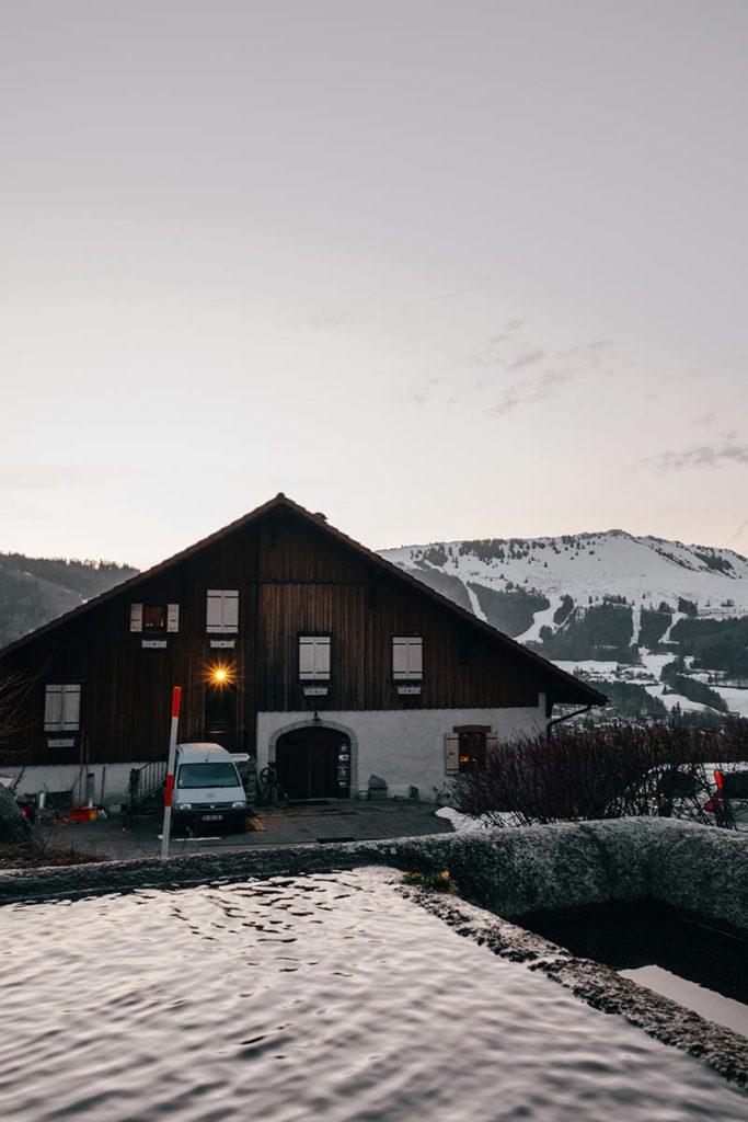 chambre d'hôte la Fontaine d'Argence chalet Alpes du Léman Refuse to hibernate