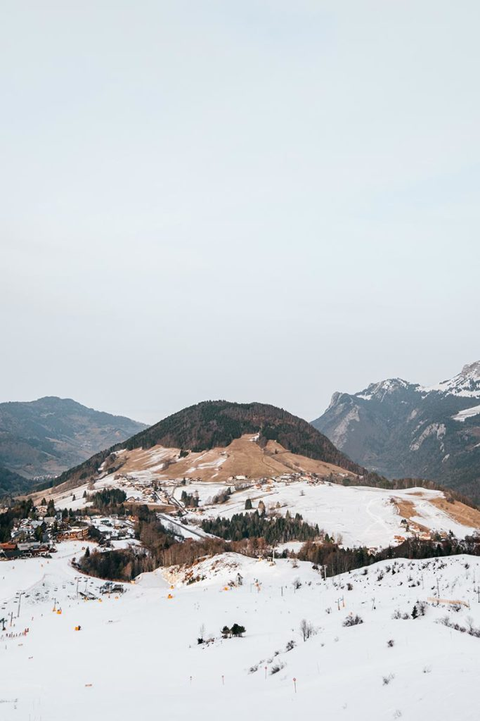 Domaine du massif des Hirmentaz-Les Habères Alpes du Léman Refuse to hibernate