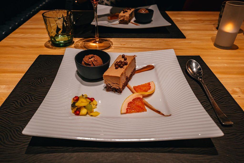 Hôtel de l'Abbaye restaurant dessert Jura Refuse to hibernate