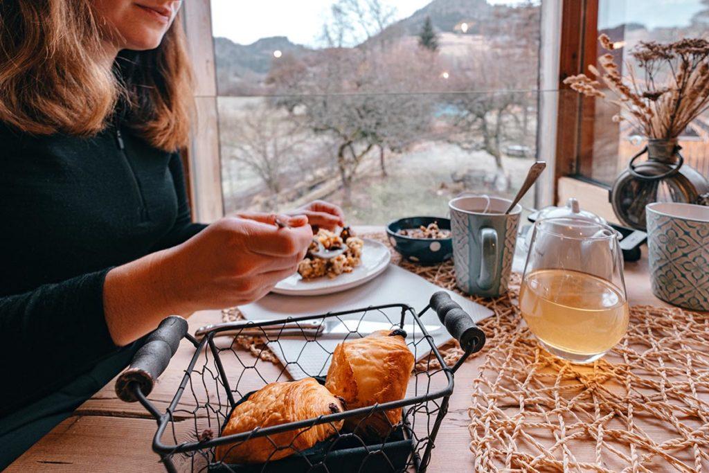 Hôtel du Moulin de Léré petit déjeuner Alpes du Léman Refuse to hibernate