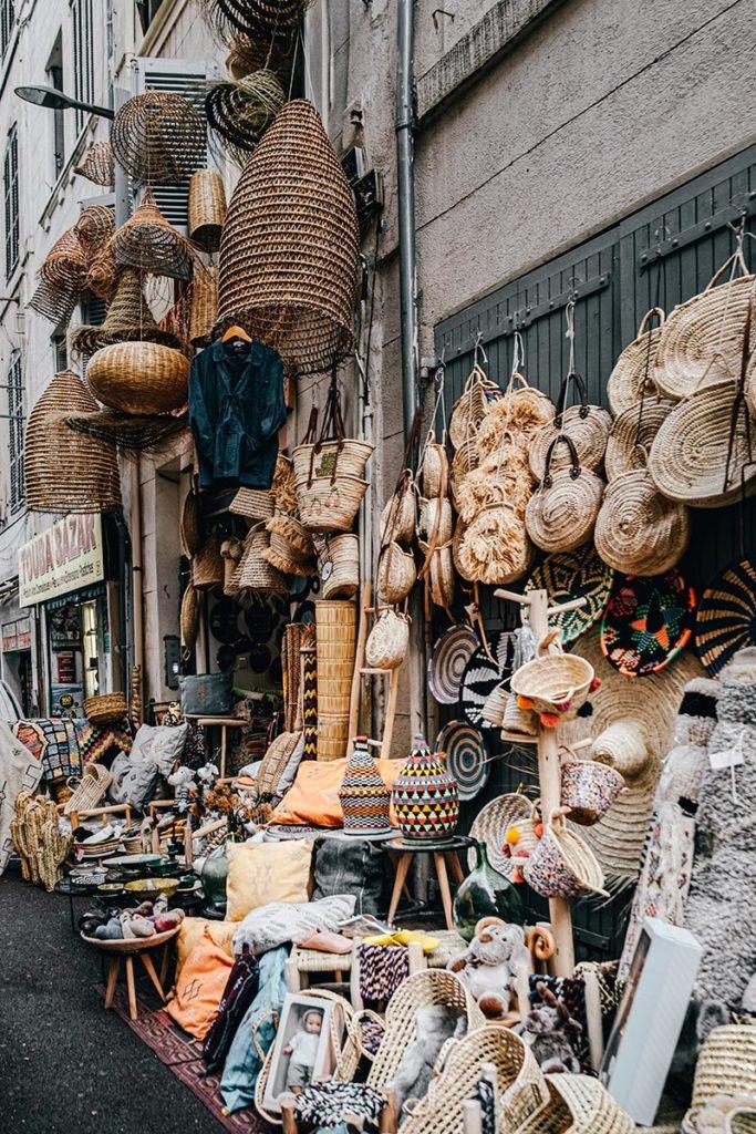 La Palme d'Or abat-jour panier Marseille Provence Gastronomie Refuse to hibernate