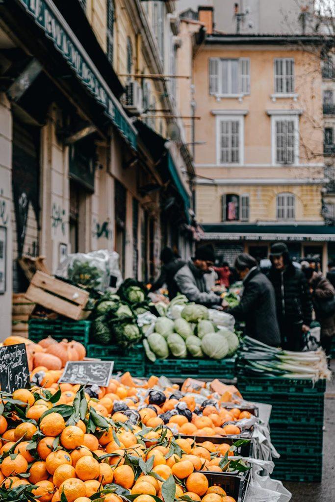 marché des Capucins clémentines Marseille Provence Gastronomie Refuse to hibernate