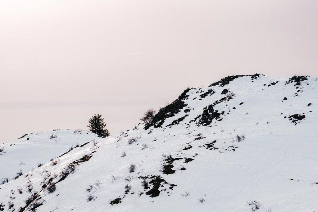 montagne enneigée Hirmentaz-Les Habères Alpes-du Léman Refuse to hibernate