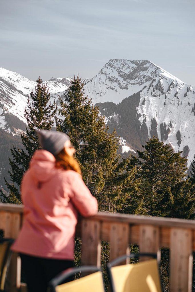 pause café Rock d'Enfer Alpes du Léman Refuse to hibernate
