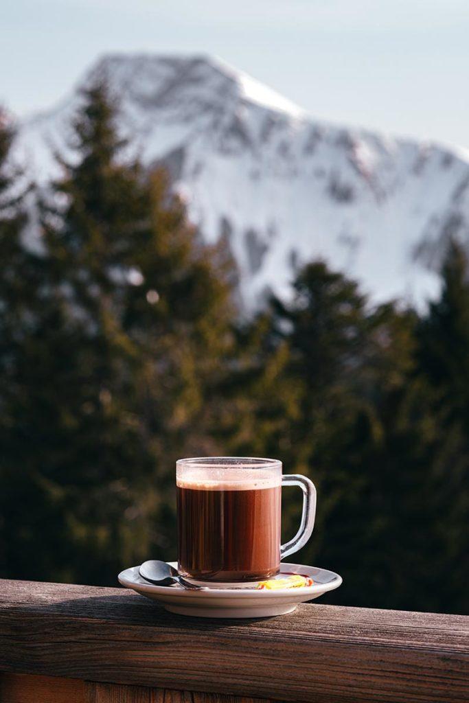pause chocolat Rock d'Enfer Alpes du Léman Refuse to hibernate