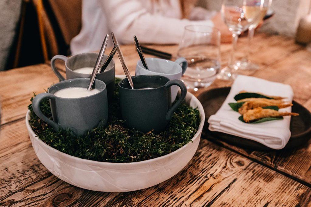 restaurant du Moulin de Léré amuses bouche Alpes du Léman Refuse to hibernate