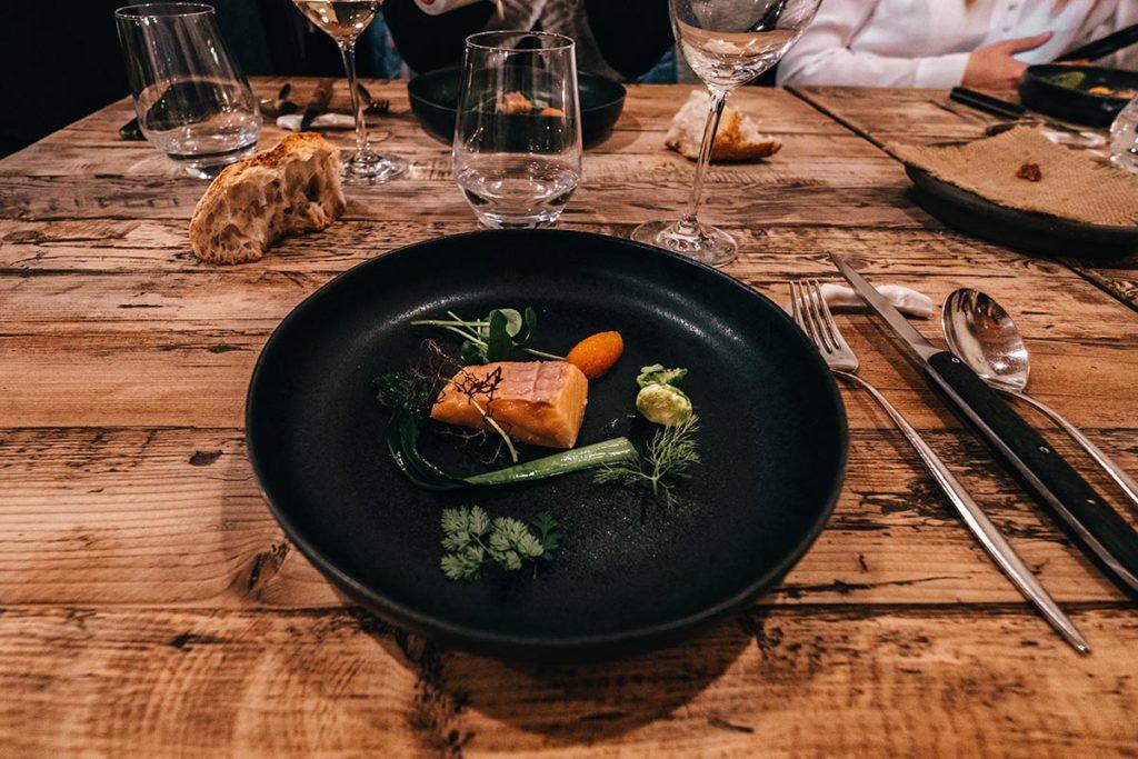 restaurant du Moulin de Léré truite Alpes du Léman Refuse to hibernate