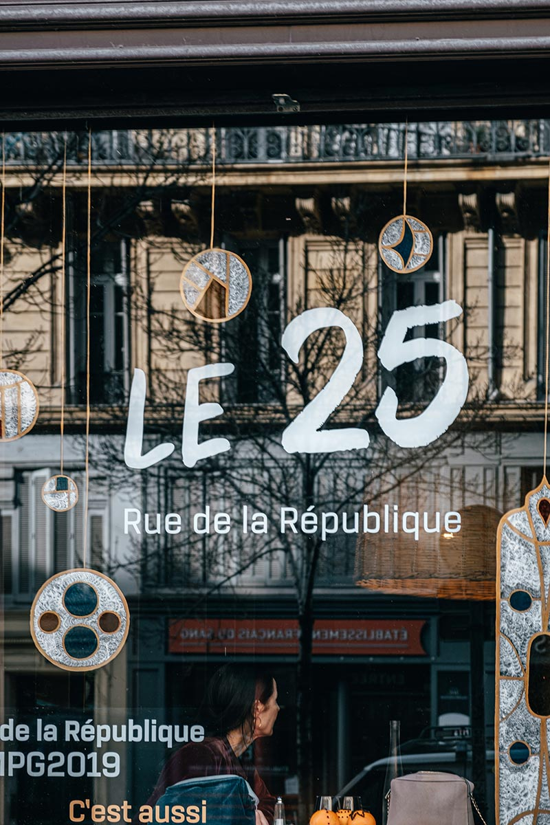 restaurant éphémère le 25 Marseille Provence Gastronomie Refuse to hibernate