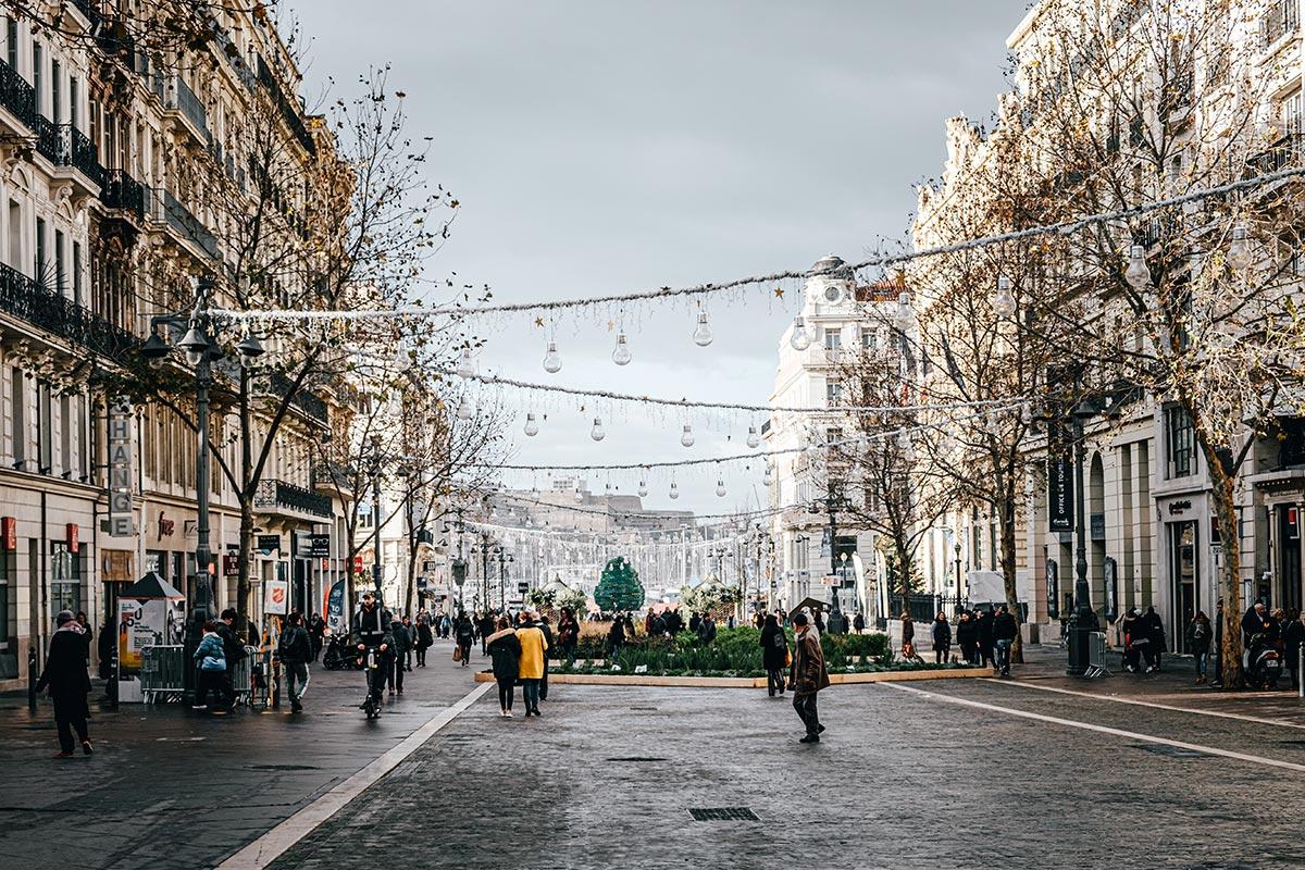rue Marseille Provence Gastronomie Refuse to hibernate
