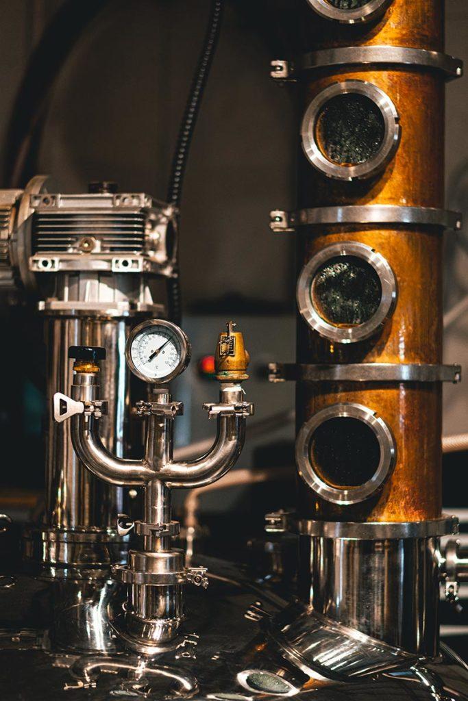 Strathcona spirits distillery cuve fermentation Edmonton Refuse to hibernate