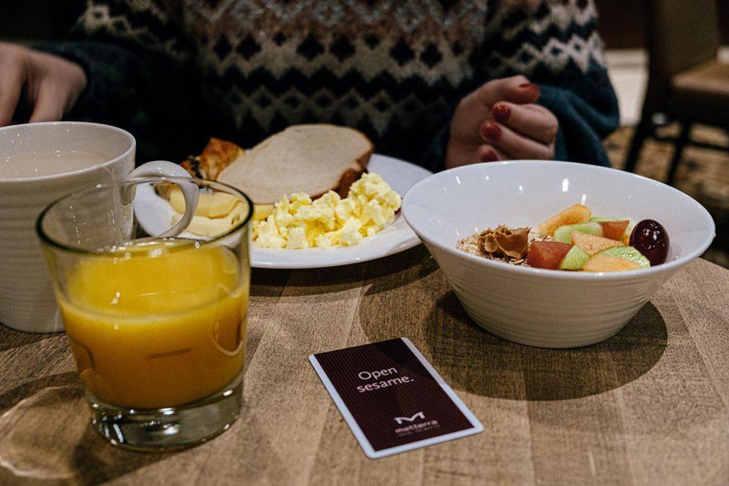Mettera hôtel petit-déjeuner Edmonton Refuse to hibernate