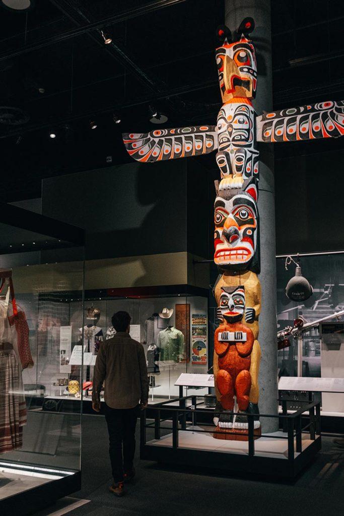 Royal Alberta Museum totem Edmonton Refuse to hibernate