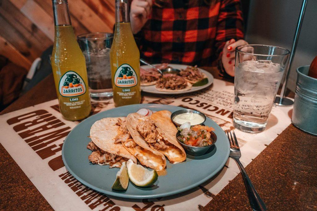 Tres Carnales quesadillas restaurant luminaire Edmonton Refuse to hibernate
