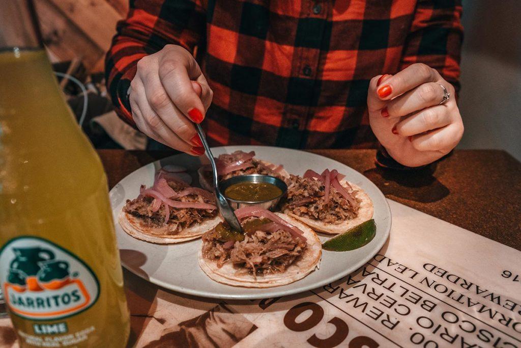 Tres Carnales tacos Edmonton Refuse to hibernate