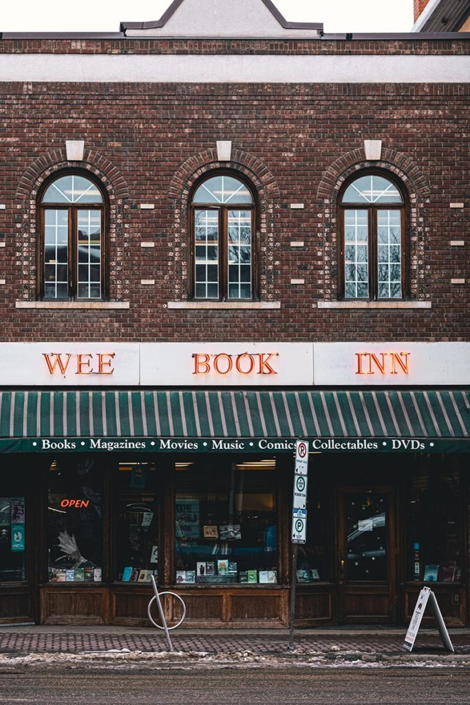 wee book inn Edmonton Refuse to hibernate