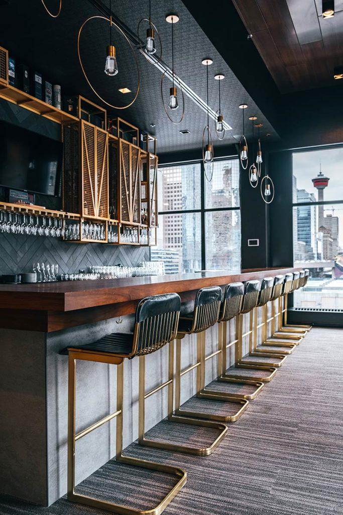 bar Residence Inn by Marriott Calgary Refuse to hibernate