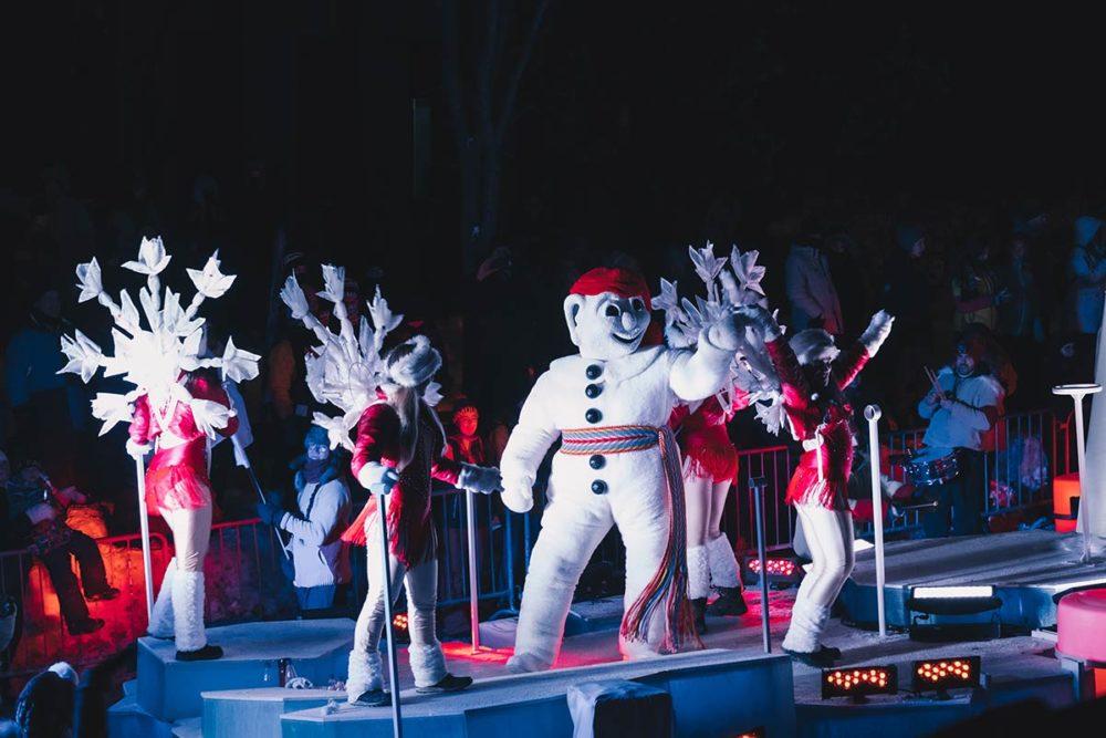 Bonhomme Carnaval de Québec Refuse to hibernate