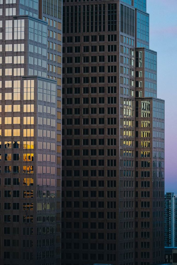 buildings vue depuis Residence Inn by Marriott Calgary Refuse to hibernate