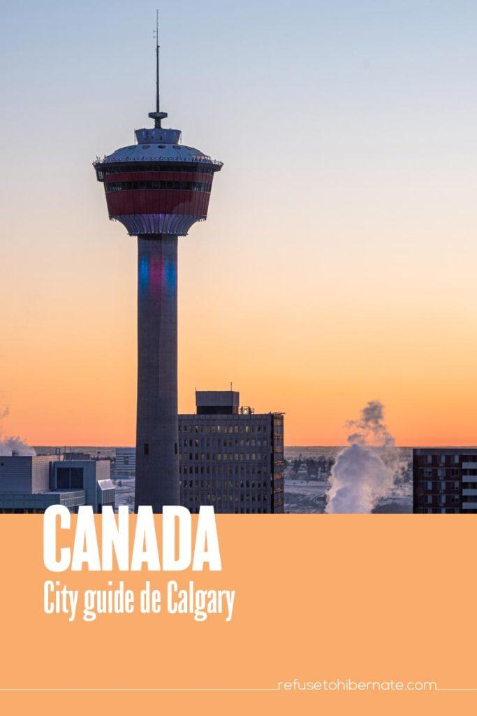 Canada city guide Calgary pinterest