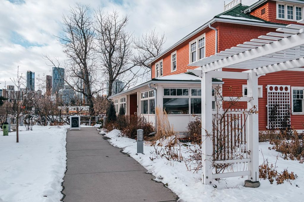 Deane House restaurant Calgary Refuse to hibernate