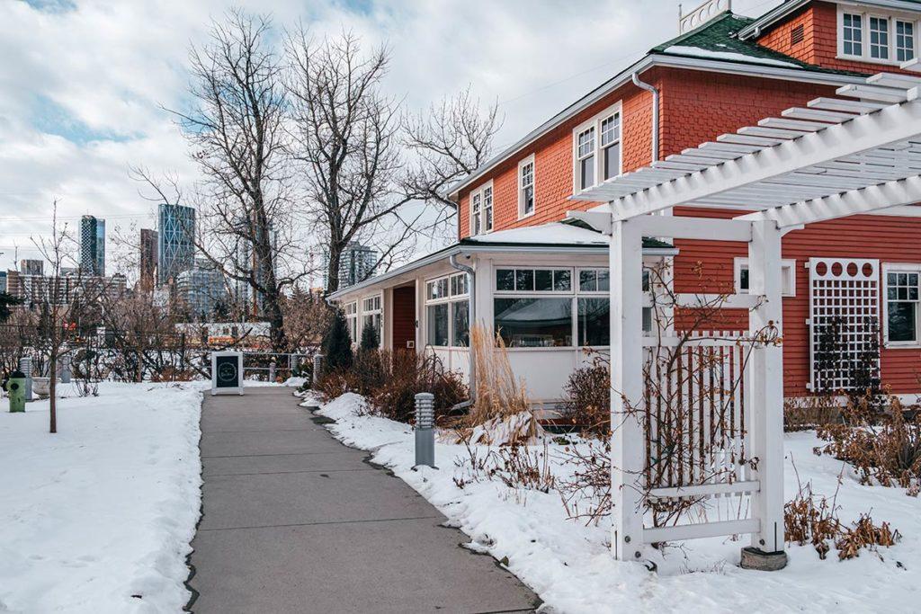Deane House restaurant Calgary Refuse to hibernate