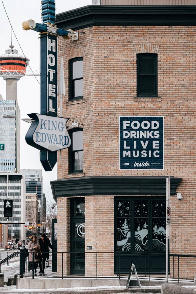 East Village King Edward Calgary Refuse to hibernate