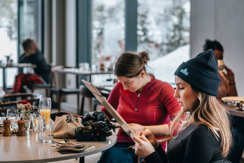 Hôtel Entourage sur-le-Lac menu Québec Refuse to hibernate
