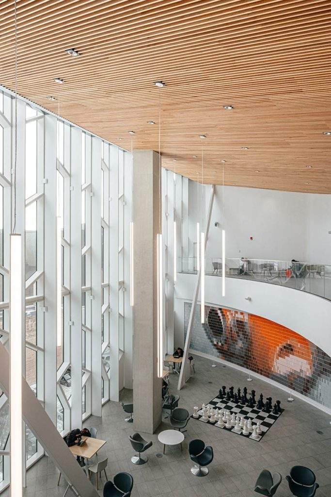 intérieur lumineux bibliothèque Calgary Refuse to hibernate