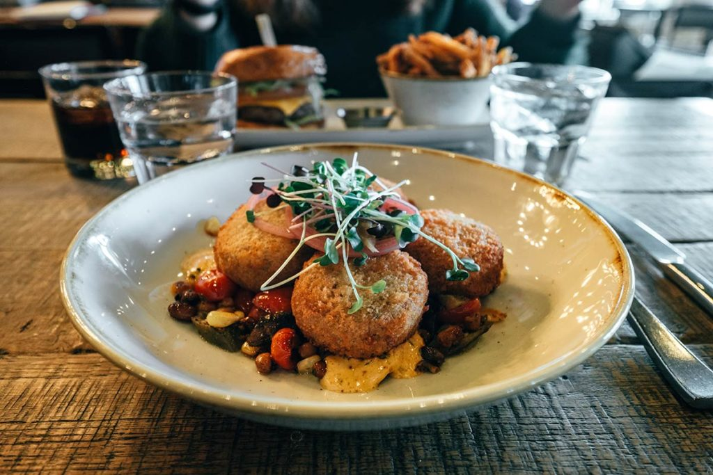 King Eddy crab cakes Calgary Refuse to hibernate