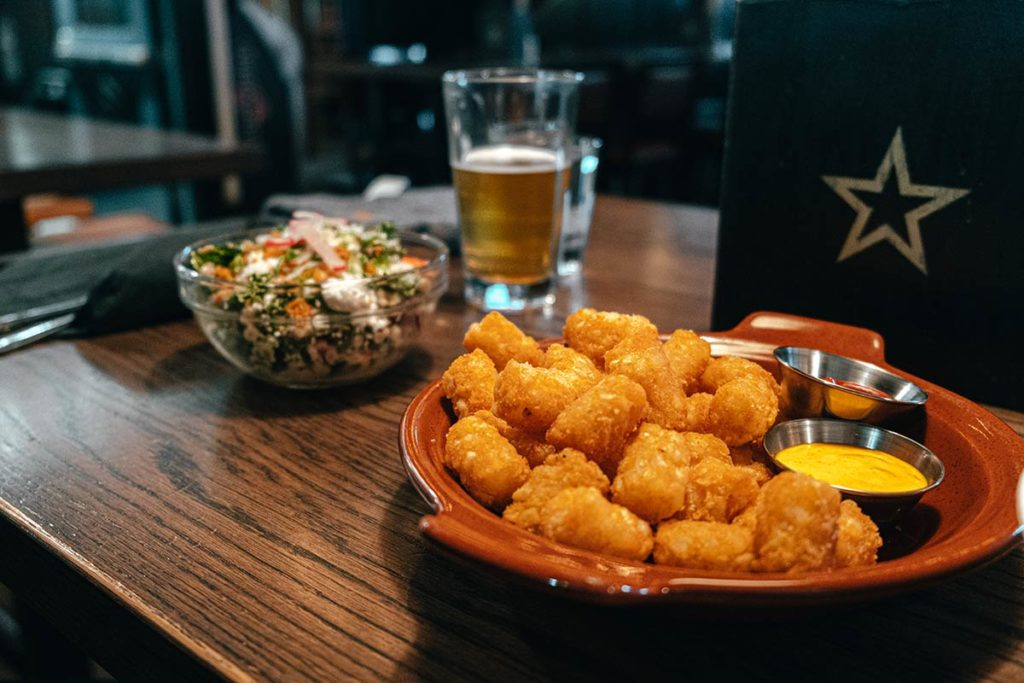 National on 10th tater tots salade Calgary Refuse to hibernate
